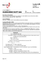 Marmorino Matt 600