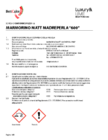 Marmorio Matt 600 Madreperla