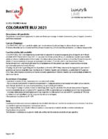 Colorant Blu 2021