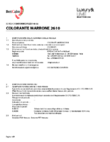 Colorant Marrone 2610