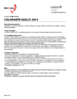 Colorant Giallo 2015