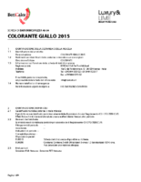 Colorante Giallo 2015