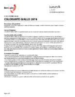 Colorant Giallo 2074