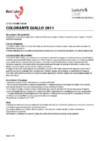 Colorant Giallo 2011