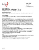 Colorant Magenta 2022