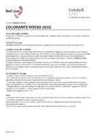 Colorante Rosso 2032