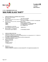 Wax Pure Glass Matt