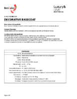 Decorative Basecoat