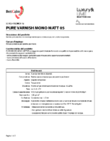 Pure Varnish Mono Matt 05