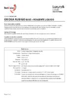Oxidea Rubigo Base + Reagente Liquido
