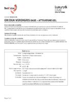 Oxidea Verdigris Base + Attivatore Gel