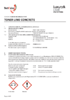 Toner Lime Concrete
