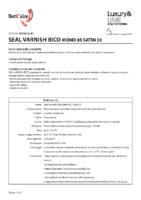 Seal Varnish Bico
