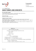 Dark Toner Lime Concrete